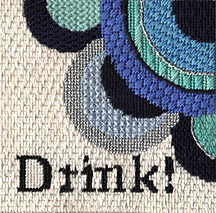 raymond crawford coasters, stitch guide by janet perry