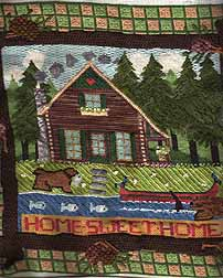 melissa shirley needlepoint cabin stitch guide by janet perry