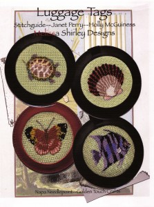 melissa shirley needlepoint luggage tags stitch guide by janet perry